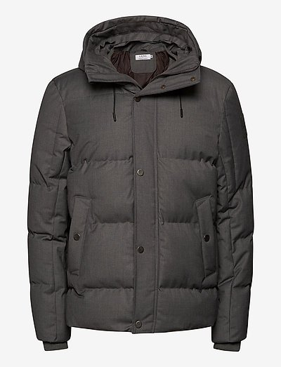 Vegan Puffer Jacket - donsjassen - grey
