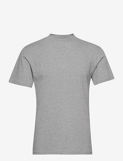 Heavy Tee - basic t-shirts - lt grey mel