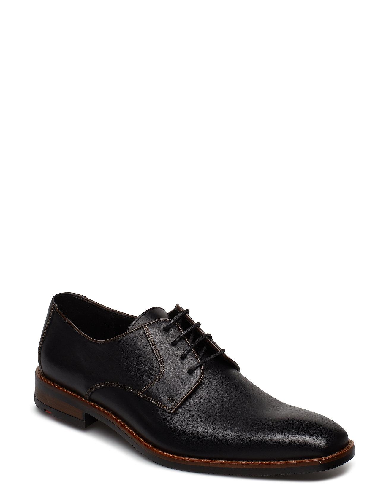LLOYD Stuart Shoes Business Laced Shoes Schwarz LLOYD