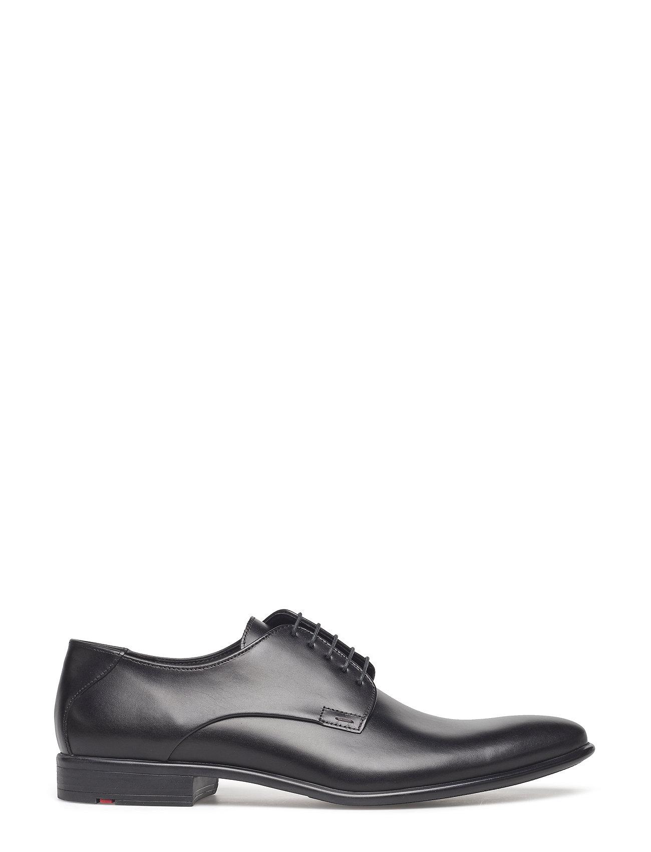 Nik Shoes Business Laced Shoes Sort Lloyd
