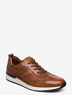 ALFONSO - lave sneakers - 3 - cognac
