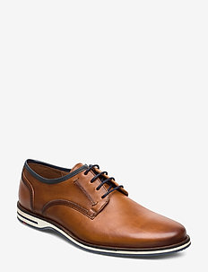 DETROIT - laced shoes - 1 - cognac