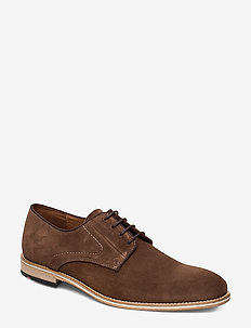 GERONA - laced shoes - 2 - cigar