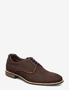 MASSIMO - laced shoes - 2 - choccolato/t.d.moro