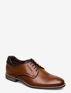 MASSIMO - laced shoes - 3 - whisky/t.d.moro