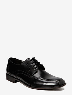 GAMON - laced shoes - schwarz