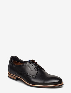 MASSIMO - laced shoes - 0 - schwarz