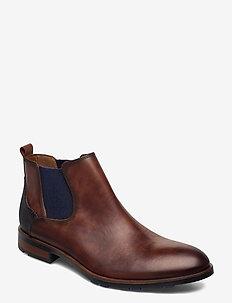 JASER - chelsea boots - 2 - brandy/midnight