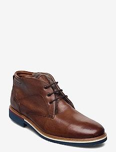 FARIN - desert boots - 1 - cognac/mahagoni