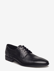 OSMOND - laced shoes - 0 - schwarz