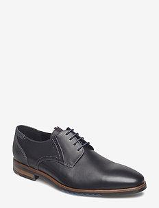 DENO - laced shoes - 1 - schwarz/blue