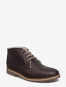 VARUS - desert boots - 5 - ebony