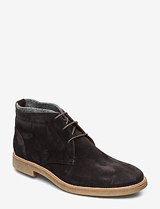 GALVAN - laced boots - 1 - graphit/future grey