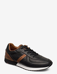 EARLAND - lave sneakers - 0 - black/new nature