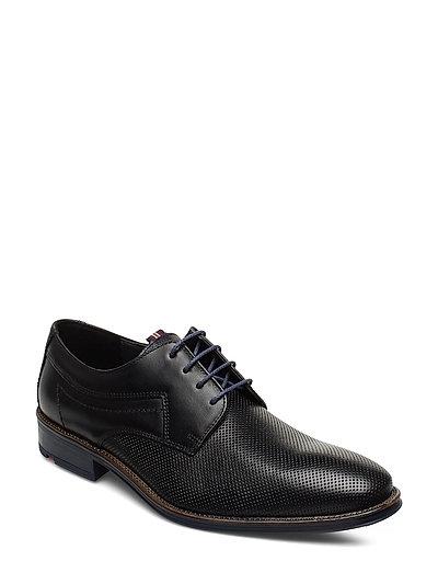 Gavino Shoes Business Laced Shoes Schwarz LLOYD