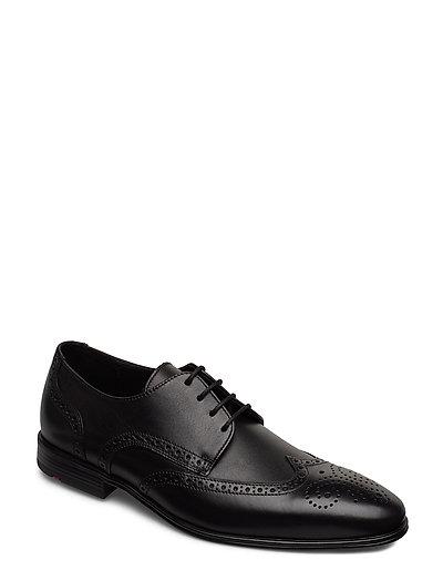 Morton Shoes Business Laced Shoes Schwarz LLOYD