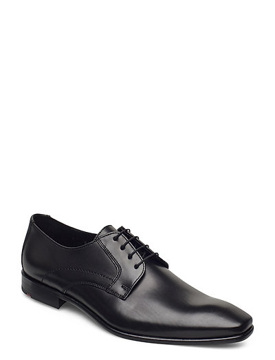 Obar Shoes Business Laced Shoes Schwarz LLOYD