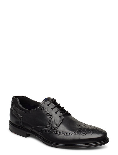 Marian Shoes Business Laced Shoes Schwarz LLOYD
