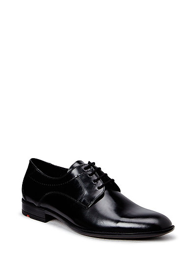 Garvin Shoes Business Laced Shoes Schwarz LLOYD