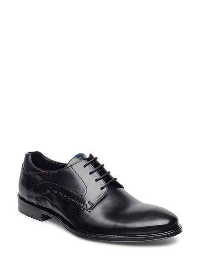 Milan Shoes Business Laced Shoes Schwarz LLOYD
