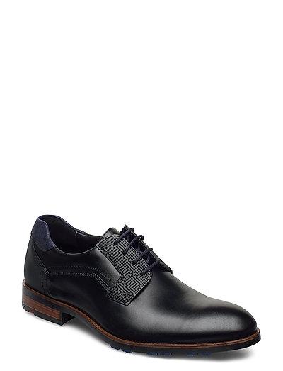 Jake Shoes Business Laced Shoes Schwarz LLOYD
