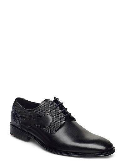 Gilbert Shoes Business Laced Shoes Schwarz LLOYD