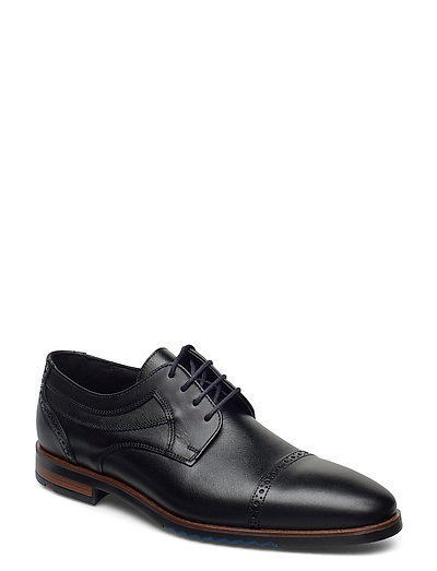 Lima Shoes Business Laced Shoes Schwarz LLOYD