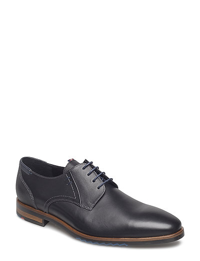 Deno Shoes Business Laced Shoes Schwarz LLOYD