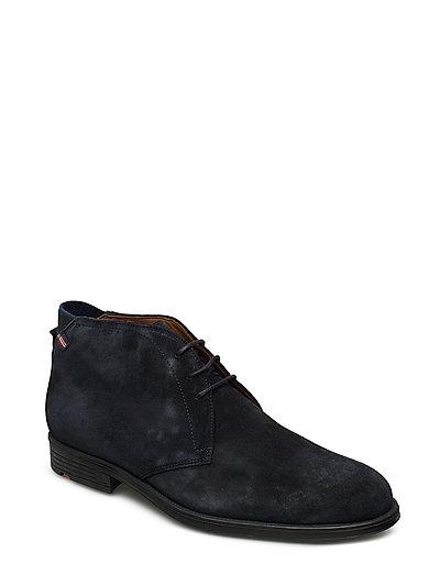 Patriot Shoes Business Laced Shoes Schwarz LLOYD