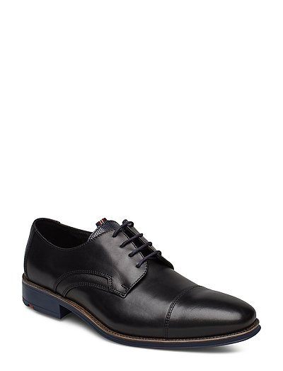 Griffin Shoes Business Laced Shoes Schwarz LLOYD