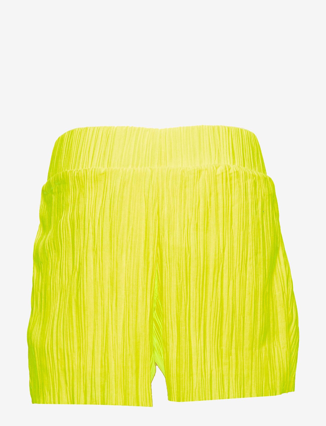LMTD - NLFDAHLIA LOOSE SHORTS W. LINING - szorty - safety yellow