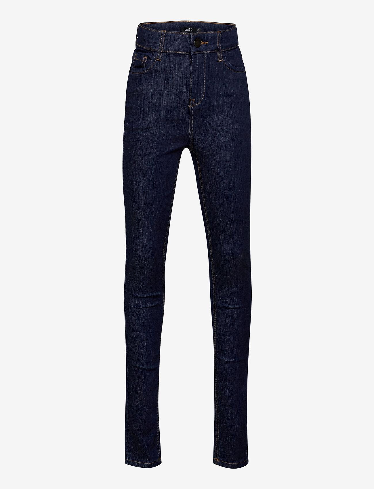 LMTD - NLFPIL DNMTEJAS 3340 HW PANT - jeans - dark blue denim - 0