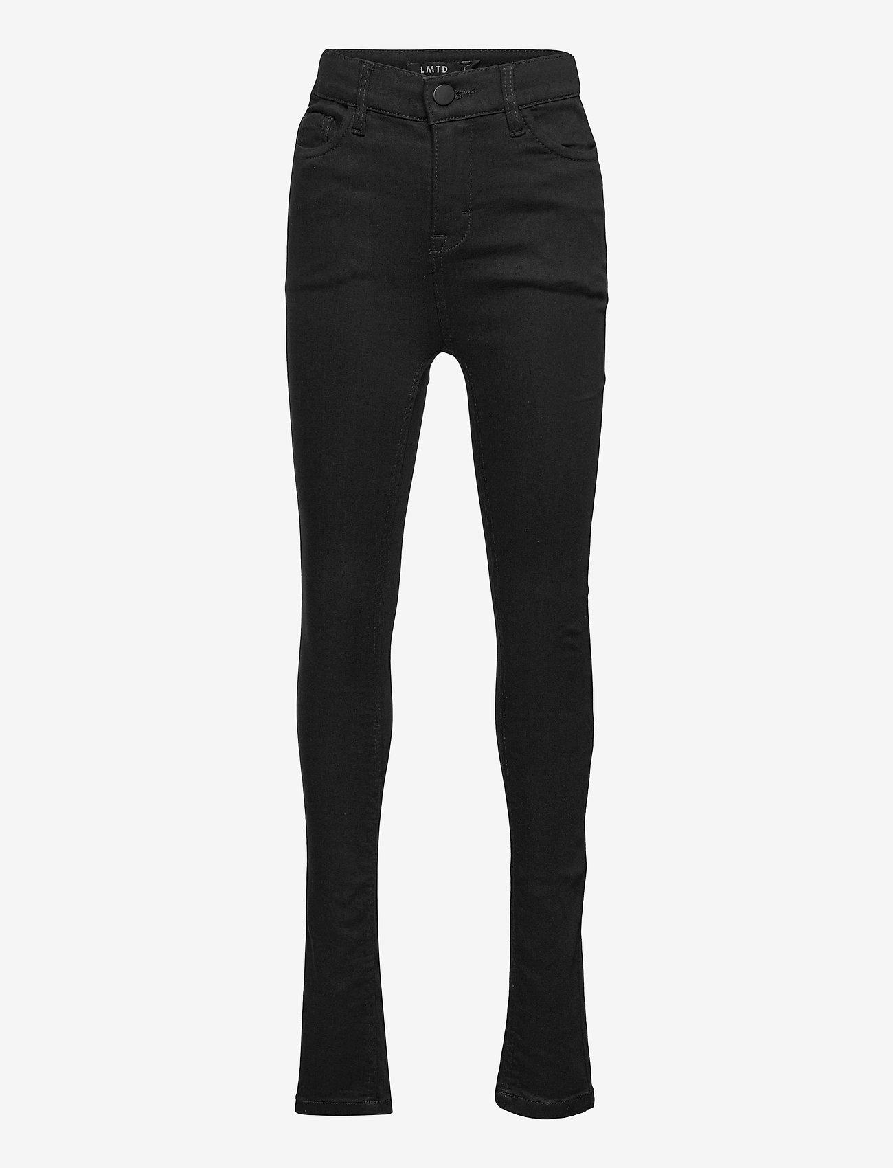 LMTD - NLFPIL DNMTECILLE 7376 HW PANT - jeans - black denim - 0