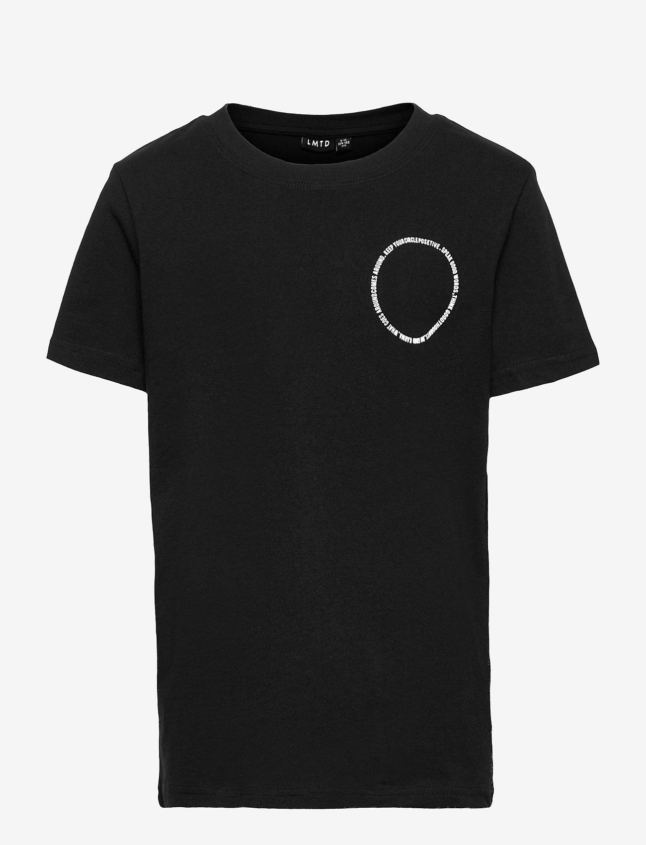 LMTD - NLMRICHARD SS R TOP - t-shirts - black - 0