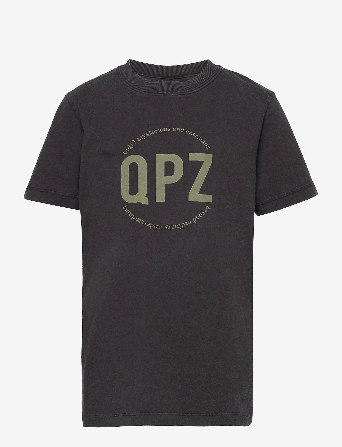 LMTD - NLMBASTIAN SS R TOP - t-shirts - black - 0