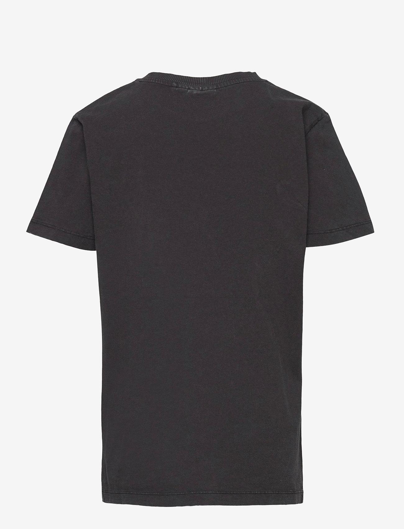 LMTD - NLMBASTIAN SS R TOP - t-shirts - black - 1