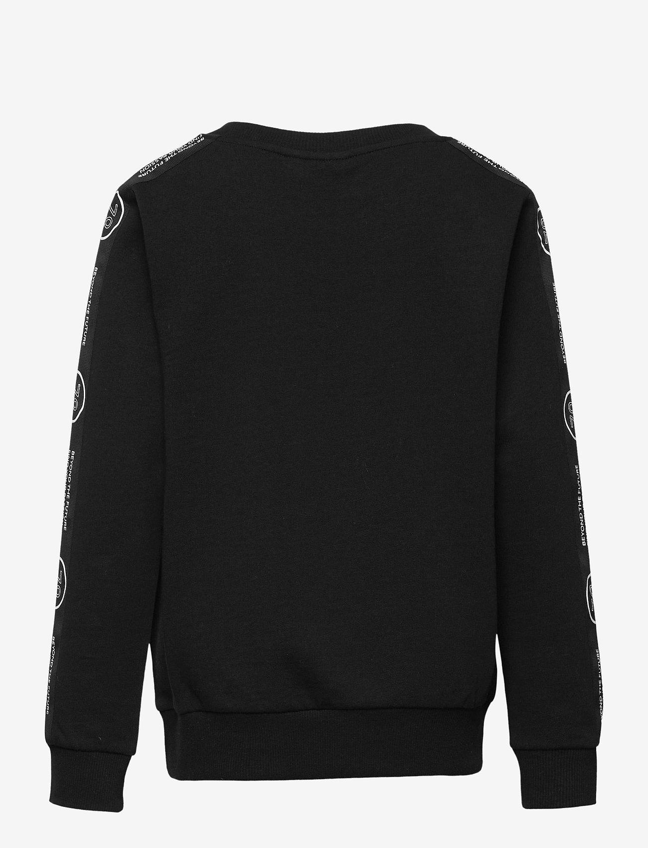 LMTD - NLMBRUNO LS SWEAT - sweatshirts - black - 1