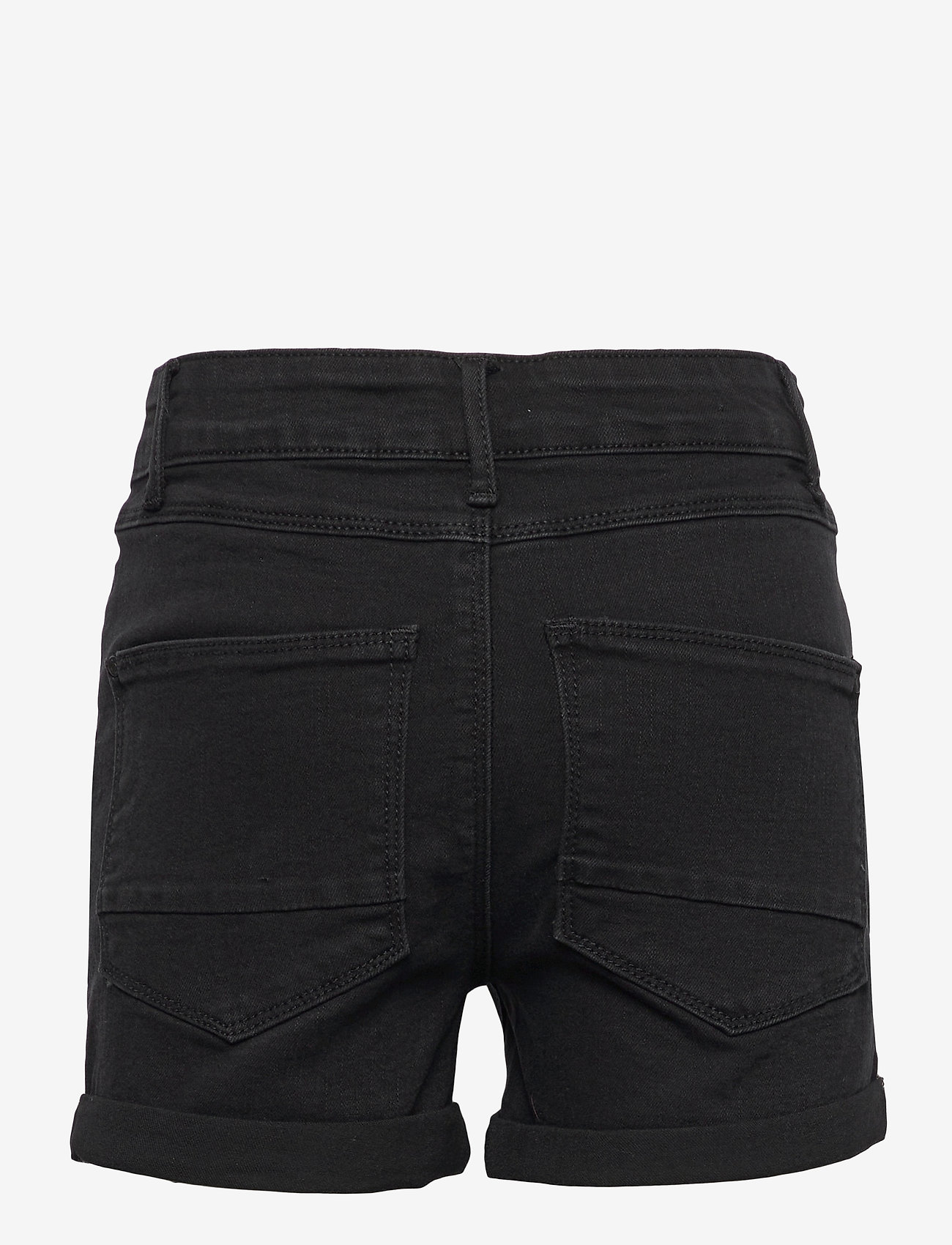 LMTD - NLFRAVEN DNMBATECES 7445 HW SHORTS NOOS - shorts - black denim - 1