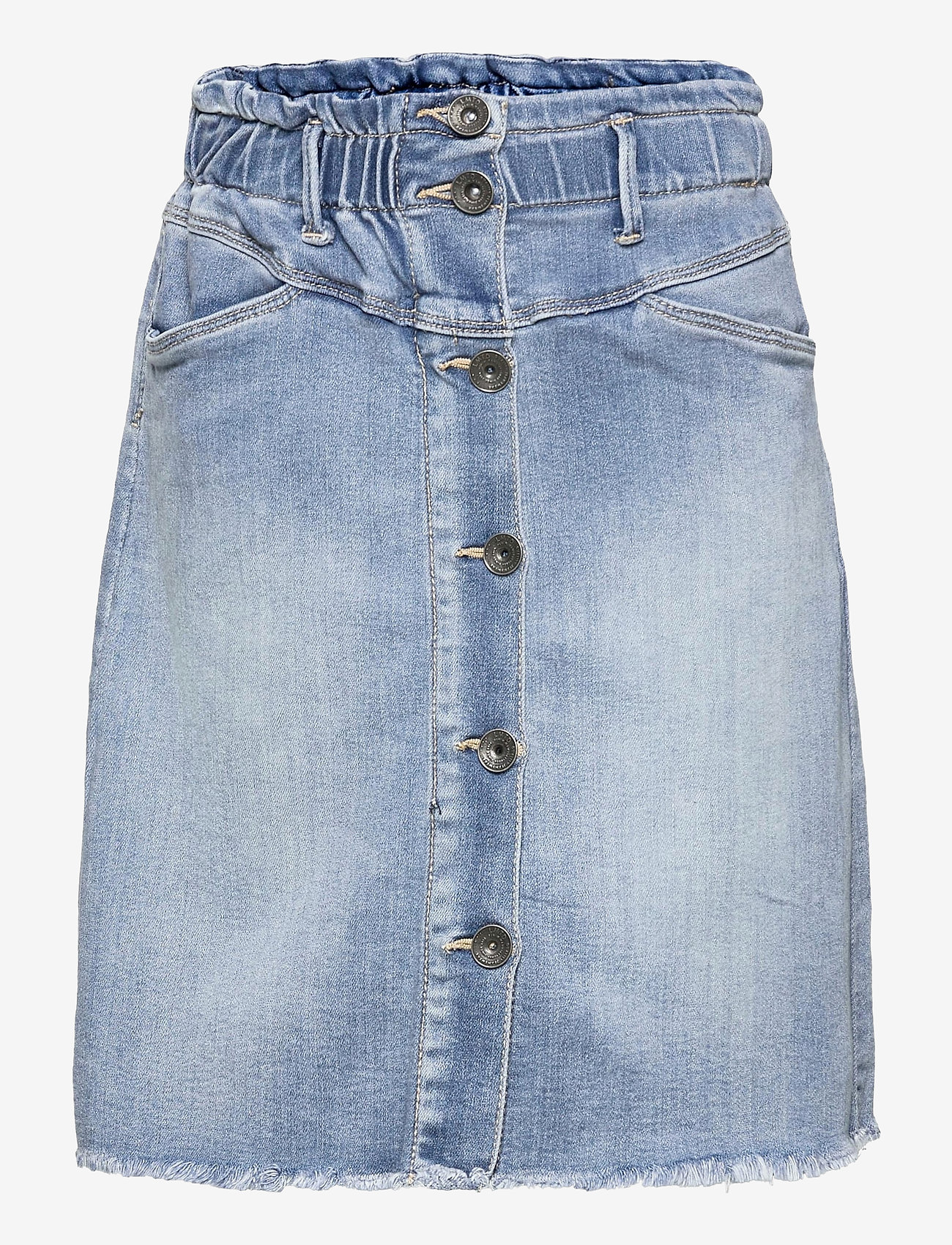 LMTD - NLFRAVEN DNMATASPERS 1467 HW A SKIRT - röcke - light blue denim - 0