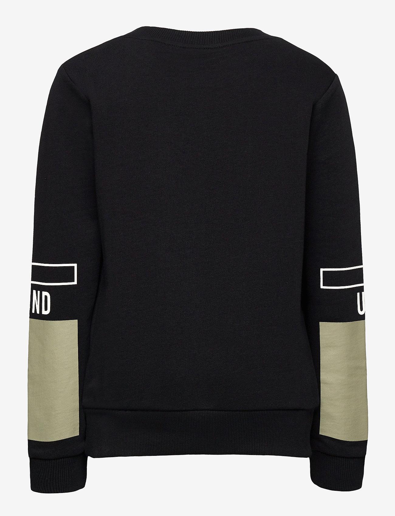 LMTD - NLMTHEIS LS SWEAT - sweatshirts - black - 1