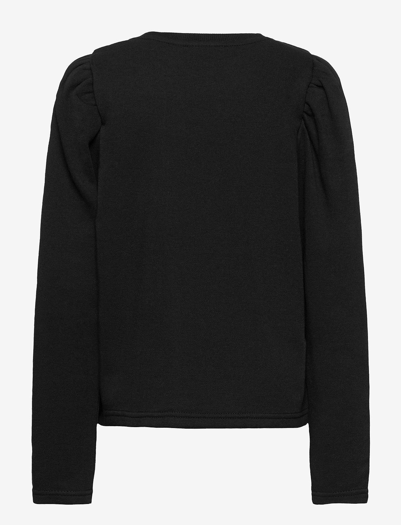 LMTD - NLFTINKER LS SWEAT - sweatshirts - black - 1