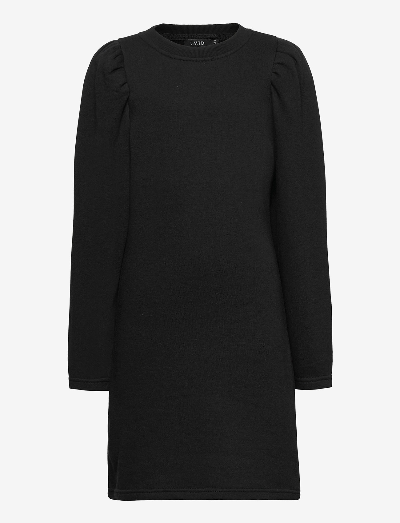 LMTD - NLFTINKER LS SWEAT DRESS - kleider - black - 0