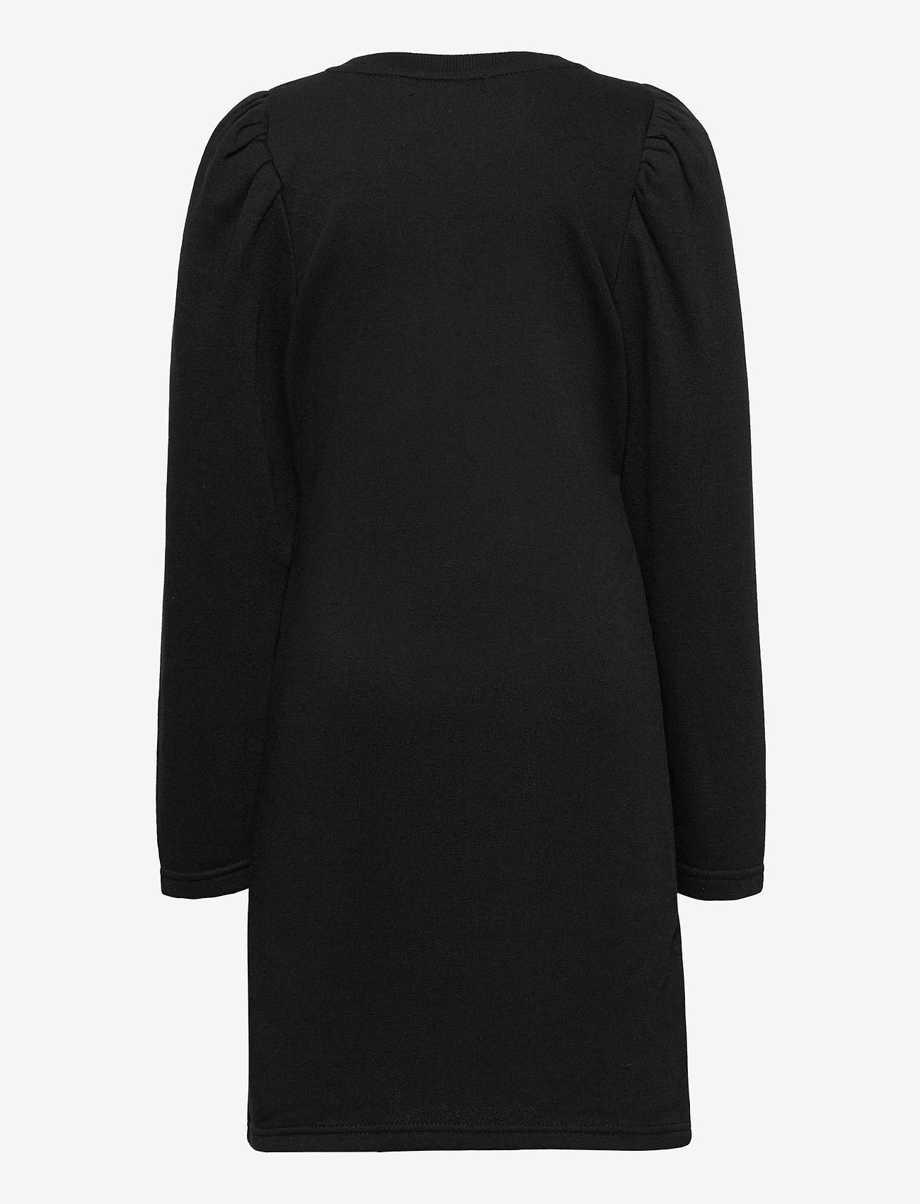 LMTD - NLFTINKER LS SWEAT DRESS - kleider - black - 1