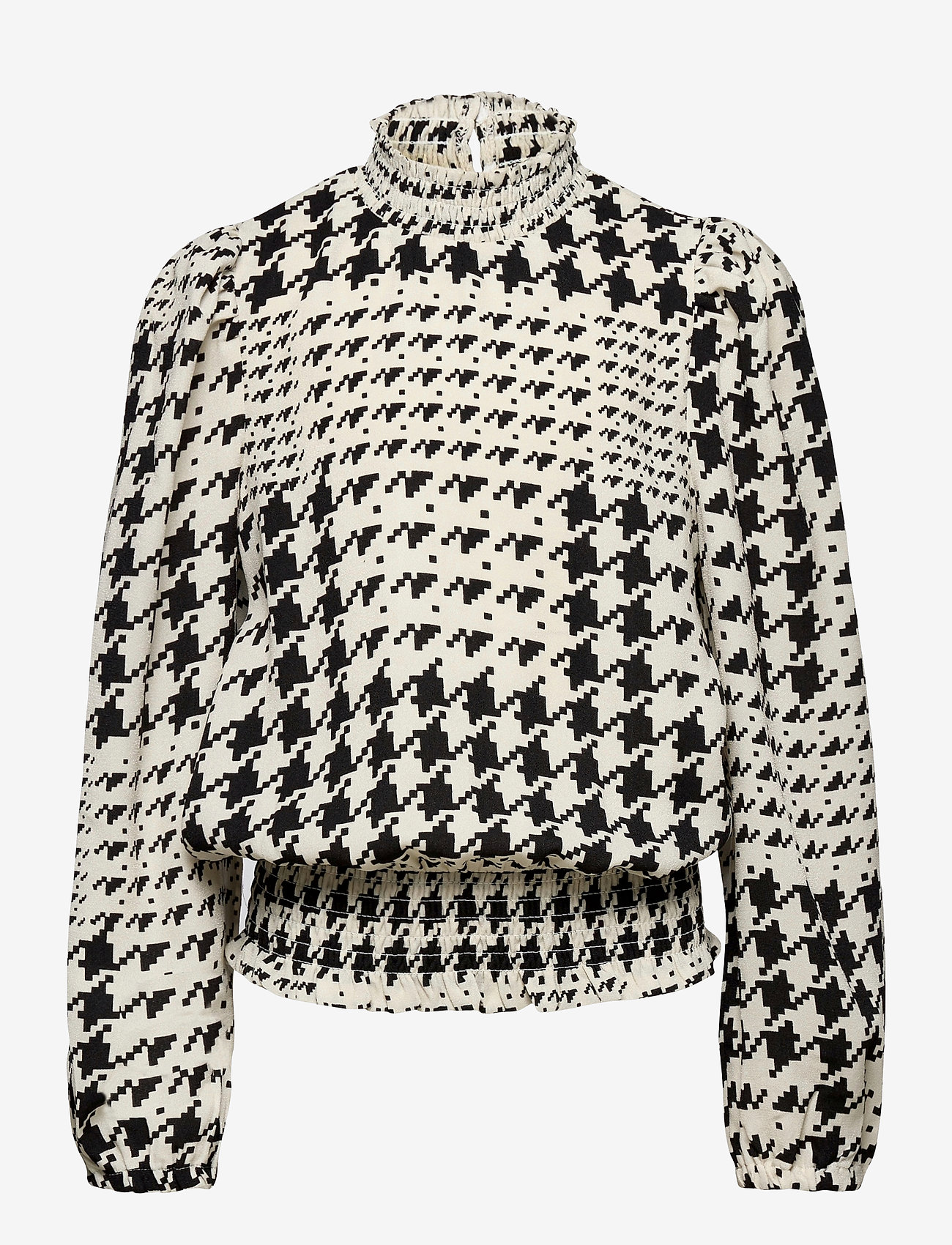 LMTD - NLFTOUND LS SHIRT - blouses & tunics - black - 0
