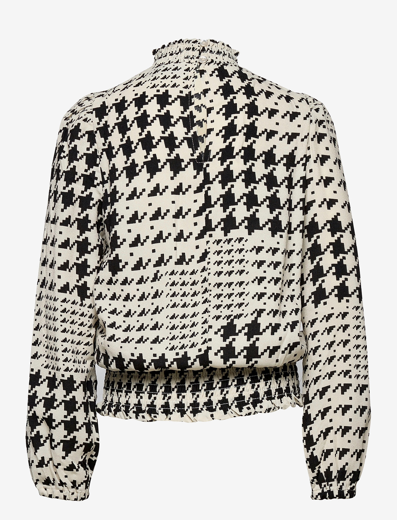 LMTD - NLFTOUND LS SHIRT - blouses & tunics - black - 1