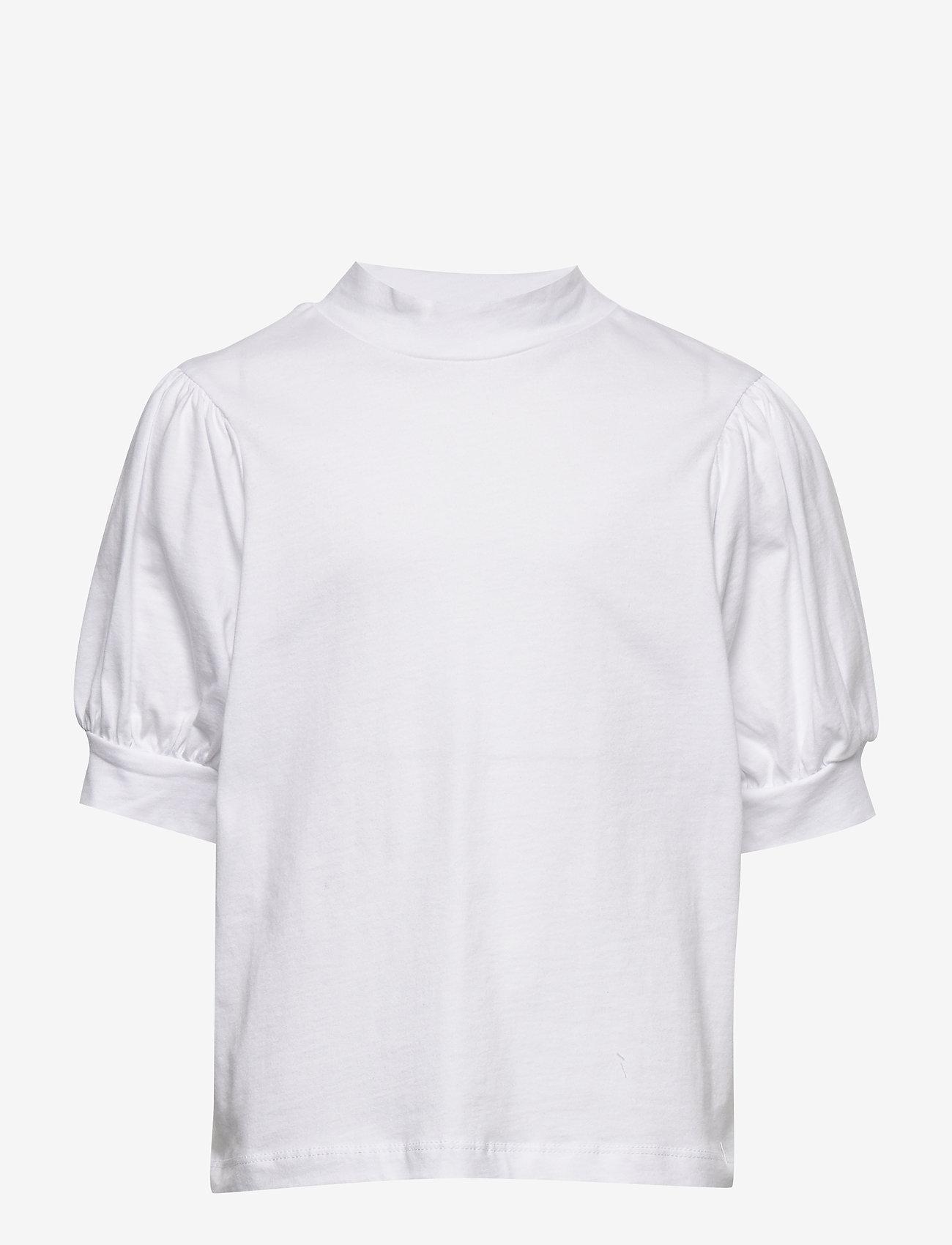 LMTD - NLFFUFF BALLON SHORT TOP - t-shirts - bright white - 0
