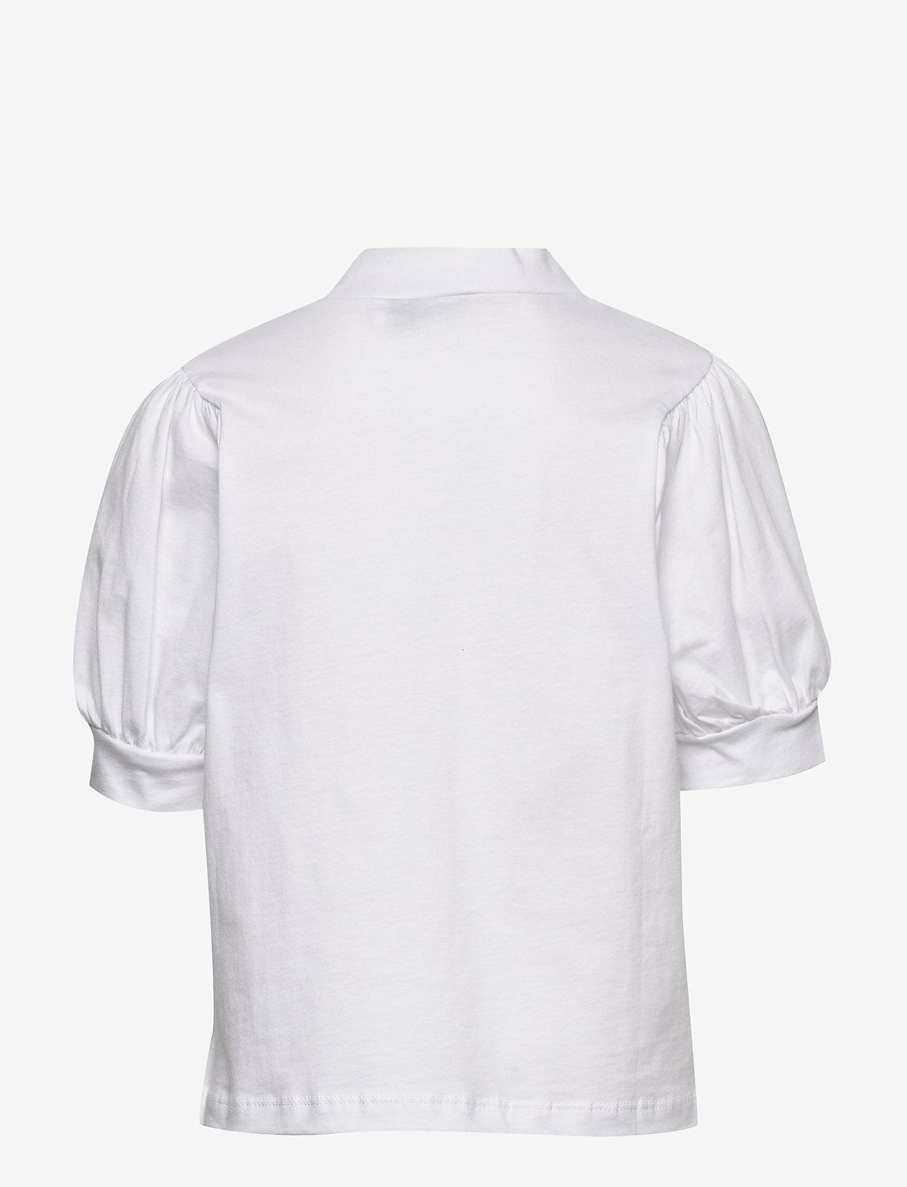 LMTD - NLFFUFF BALLON SHORT TOP - t-shirts - bright white - 1