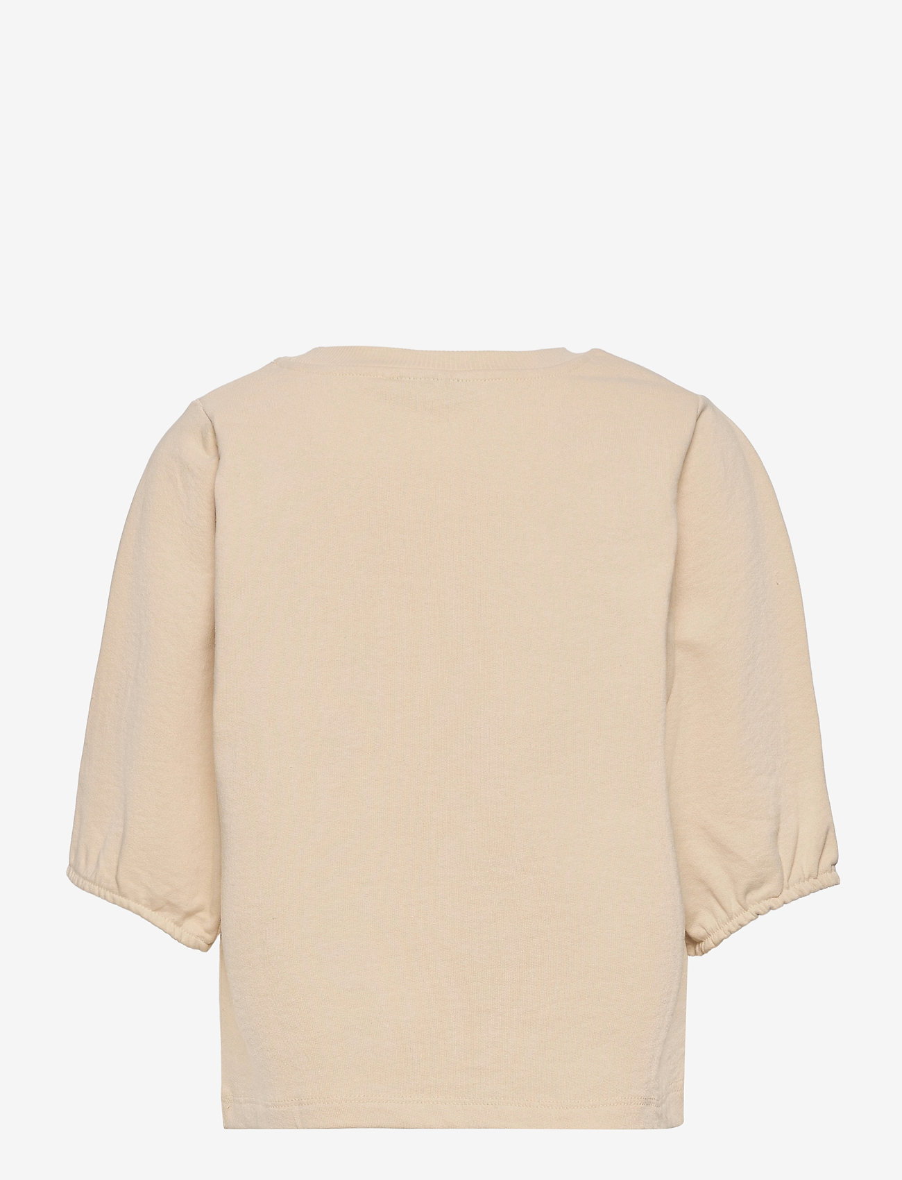 LMTD - NLFHALLON SS SHORT SWEAT - sweatshirts - creme brle - 1