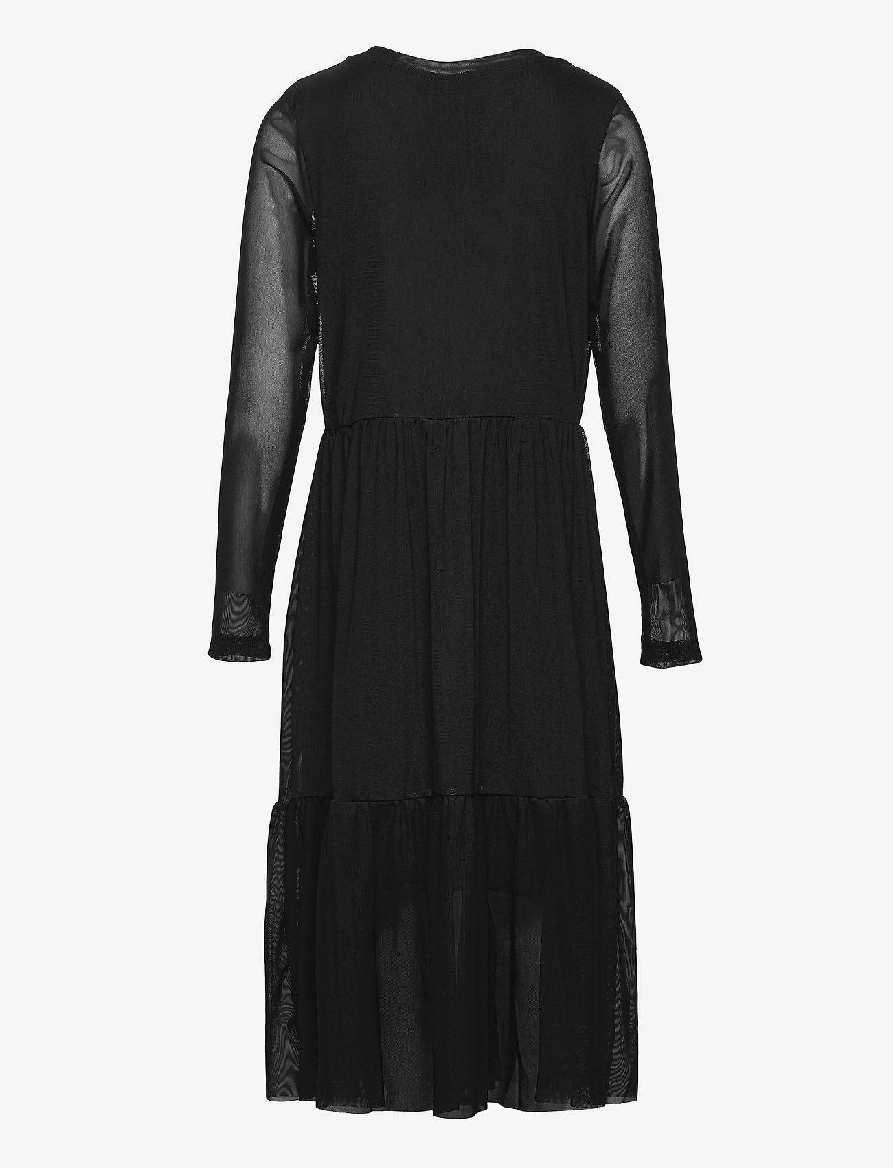 LMTD - NLFRESH LS DRESS - kleider - black - 1