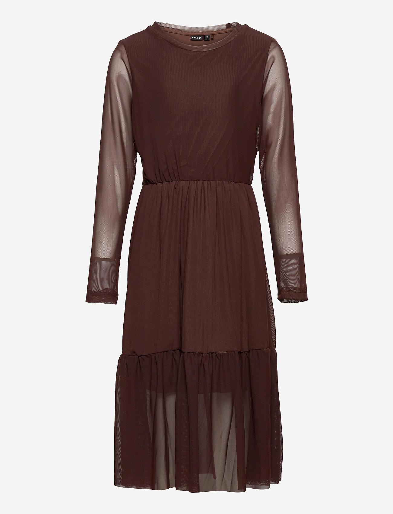 LMTD - NLFRESH LS DRESS - kleider - chestnut - 0